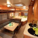 Modern RV Interior For Playing Games