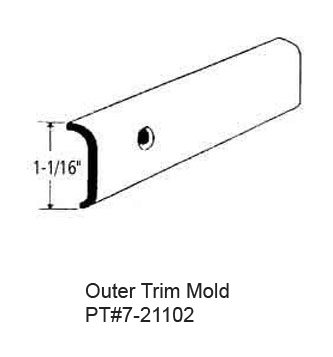 Rv Outer Trim Mold In California Hemet Valley Rv