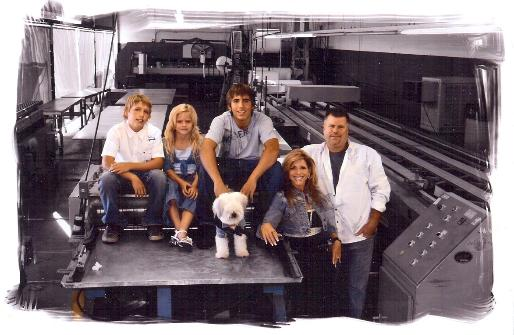 Steve Loomis (Owner of & Manager of Operators at Hemet Valley RV) & his Family