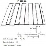 "1"" Mesa RV Siding Pattern"