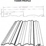 Yoder Profile RV Siding Pattern