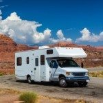 RV With A Canyon In The Background