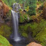 Waterfall in Gifford Pinchot National Forest